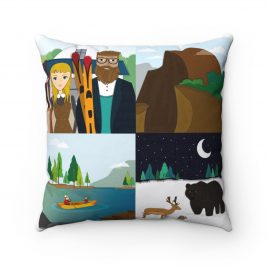 Yosemite 4-Square Pillow