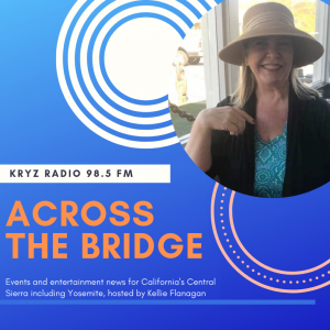 Podcast cover of Across the Bridge with woman smiling