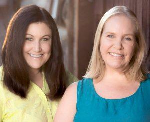 Portrait of authors Jennifer Moss and Kellie Flanagan
