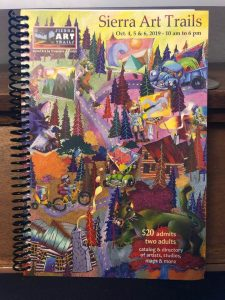 Full color cover of Sierra Art Trails catalog 2019