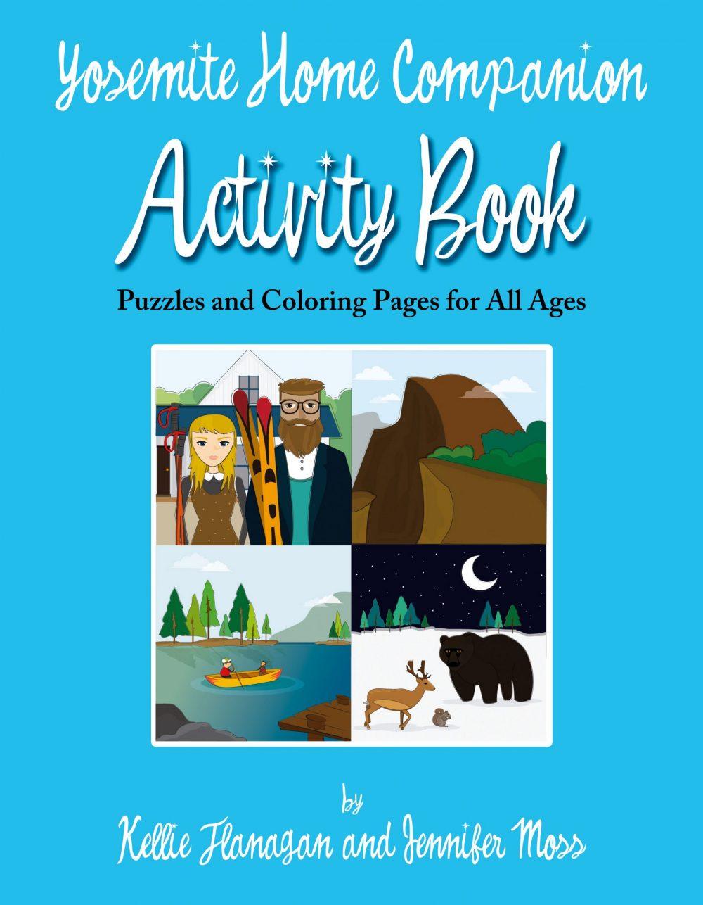 Yosemite Home Companion Activity Book