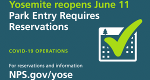 Yosemite reopens June 11th
